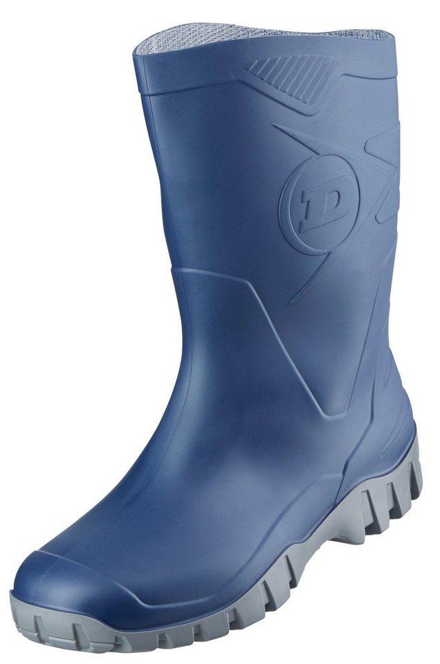 Dunlop Gummistiefel in blau