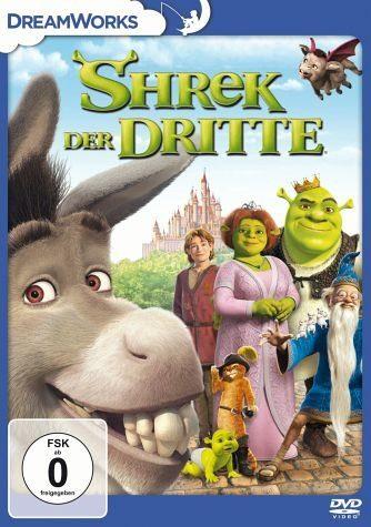 DVD »Shrek der Dritte«