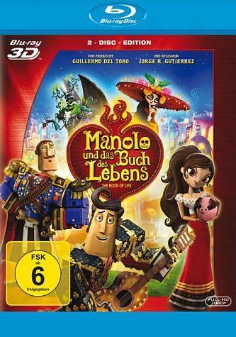 Blu-ray »Manolo und das Buch des Lebens (Blu-ray 3D, +...«