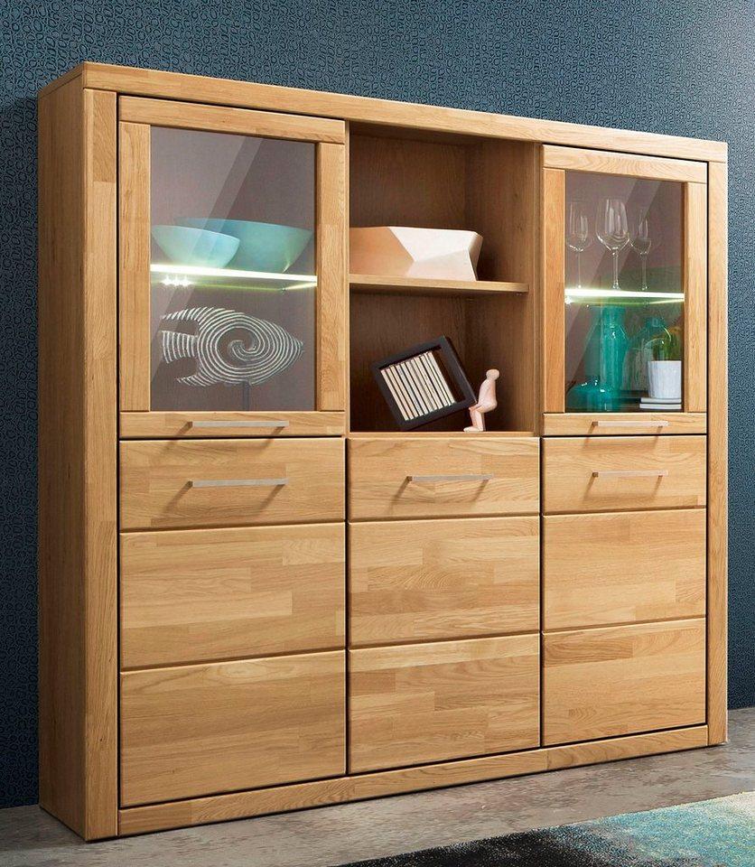 highboard breite 130 cm online kaufen otto. Black Bedroom Furniture Sets. Home Design Ideas