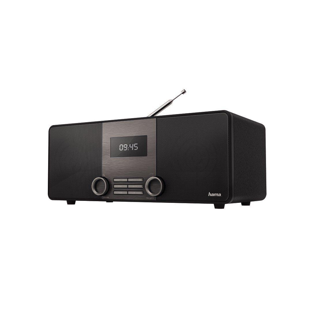 Hama Hama Digitalradio, DAB/DAB+/FM/Bluetooth/Streaming/Aux »Stereo, Radiowecker DR1510BT«