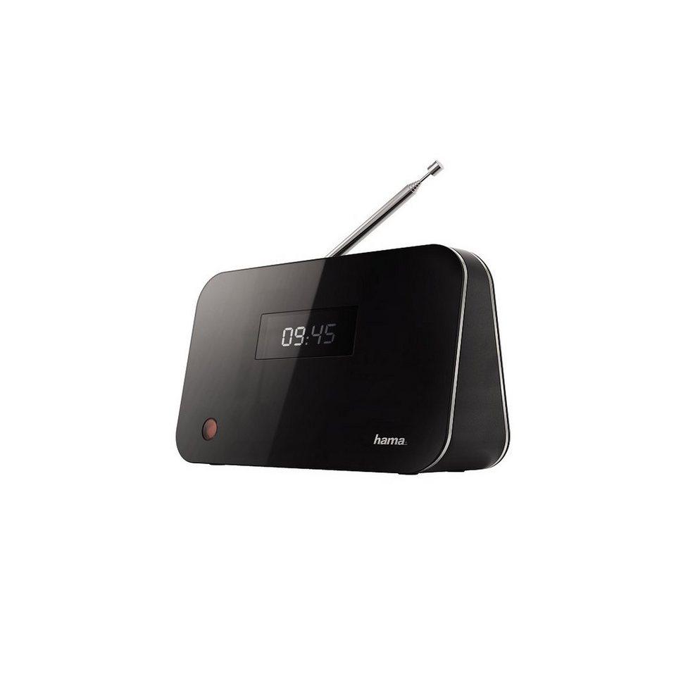 Hama Digitaler Radio Tuner DT60 DAB+/DAB/FM/Bluteooth Streaming »mit Fernbedienung und Netzteil« in Schwarz