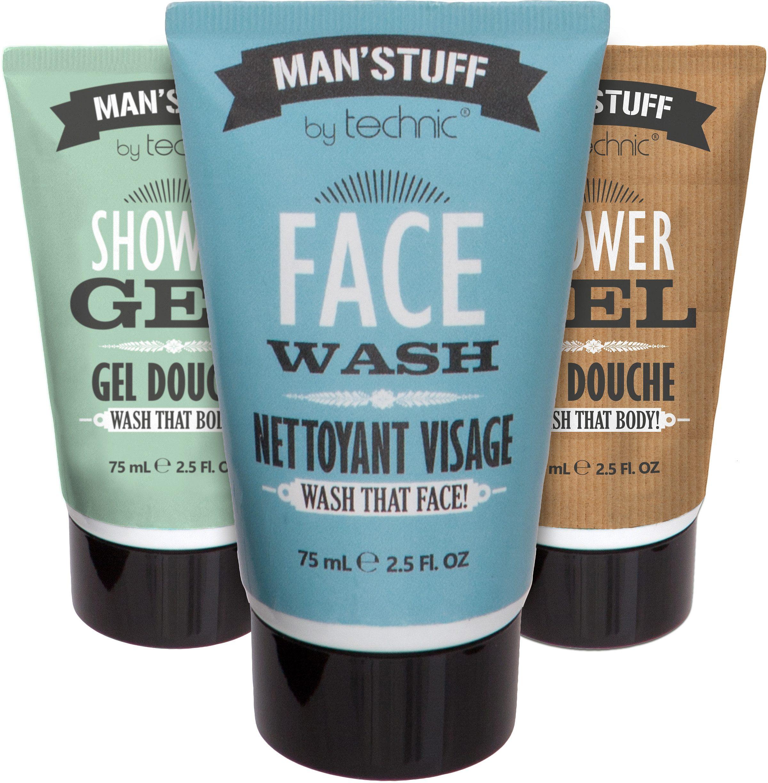 »Man'Stuff Wash Bag Set«, Gesichts- und Körperpflege-Set