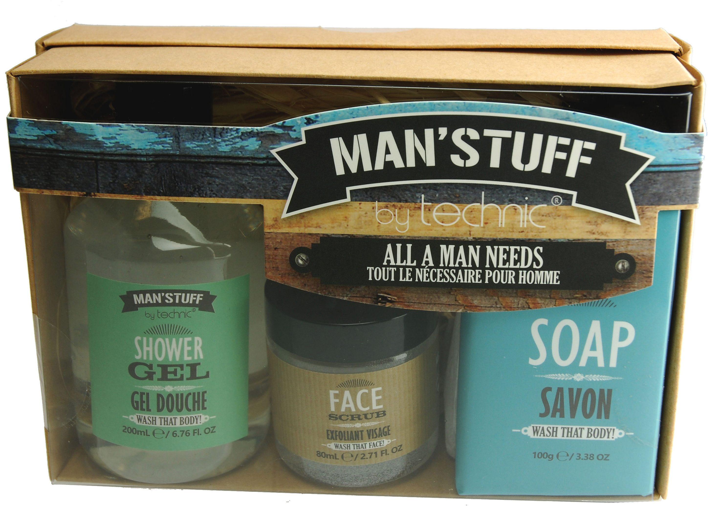 »Man'Stuff All A Man Needs«, Körperpflege-Set