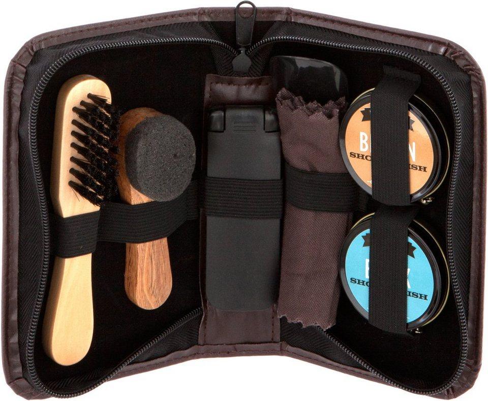 »Man'Stuff Shoe Restore Kit«, Schuhpflege-Set