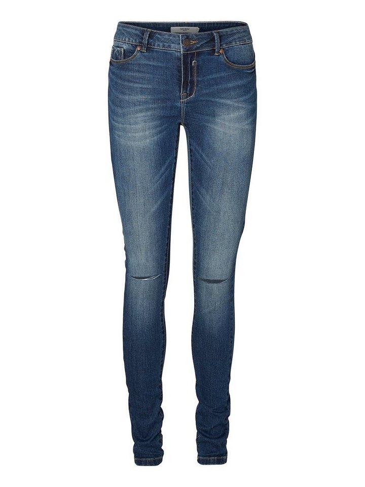 Vero Moda Slim Fit- Skinny fit jeans in Medium Blue Denim