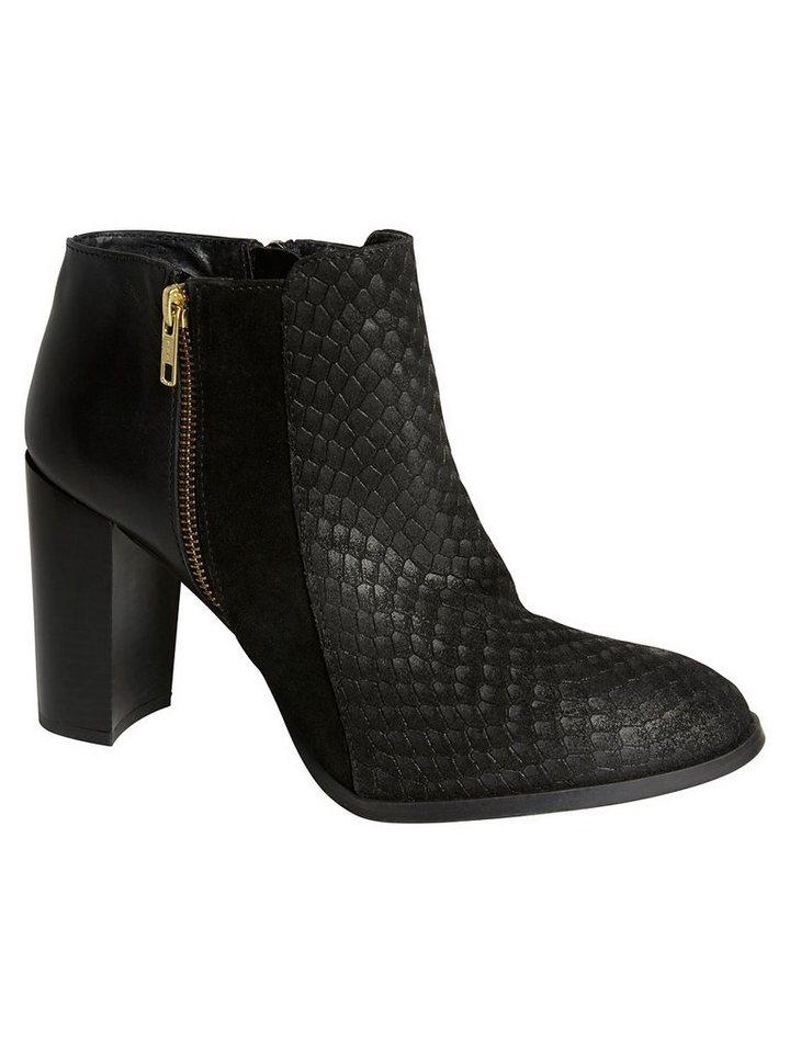 Vero Moda Leder Stiefel in Black