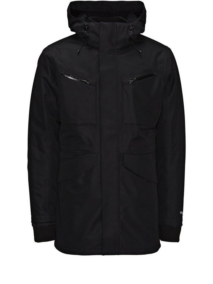 Jack & Jones 3-lagige, funktionelle Jacke in Black