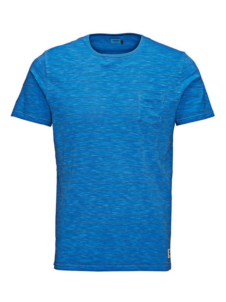 Jack & Jones Mit speziellen Effekten versehenes Long-Fit- T-Shirt in Imperial Blue