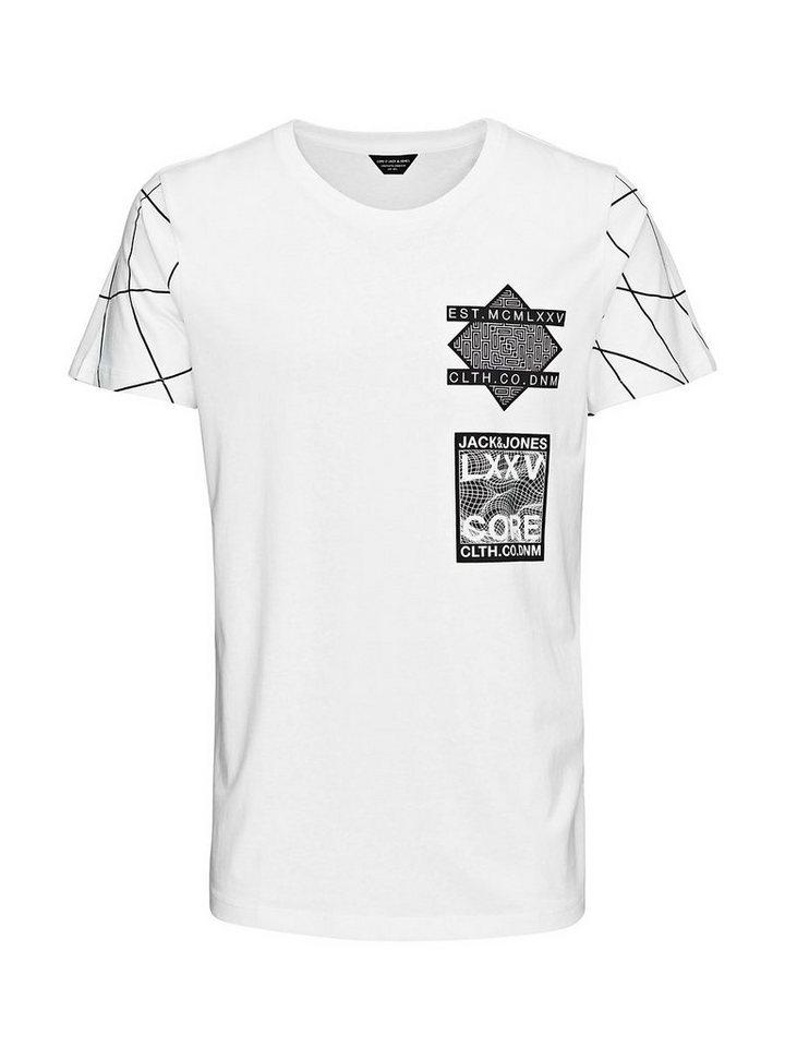 Jack & Jones Artwork- T-Shirt in White