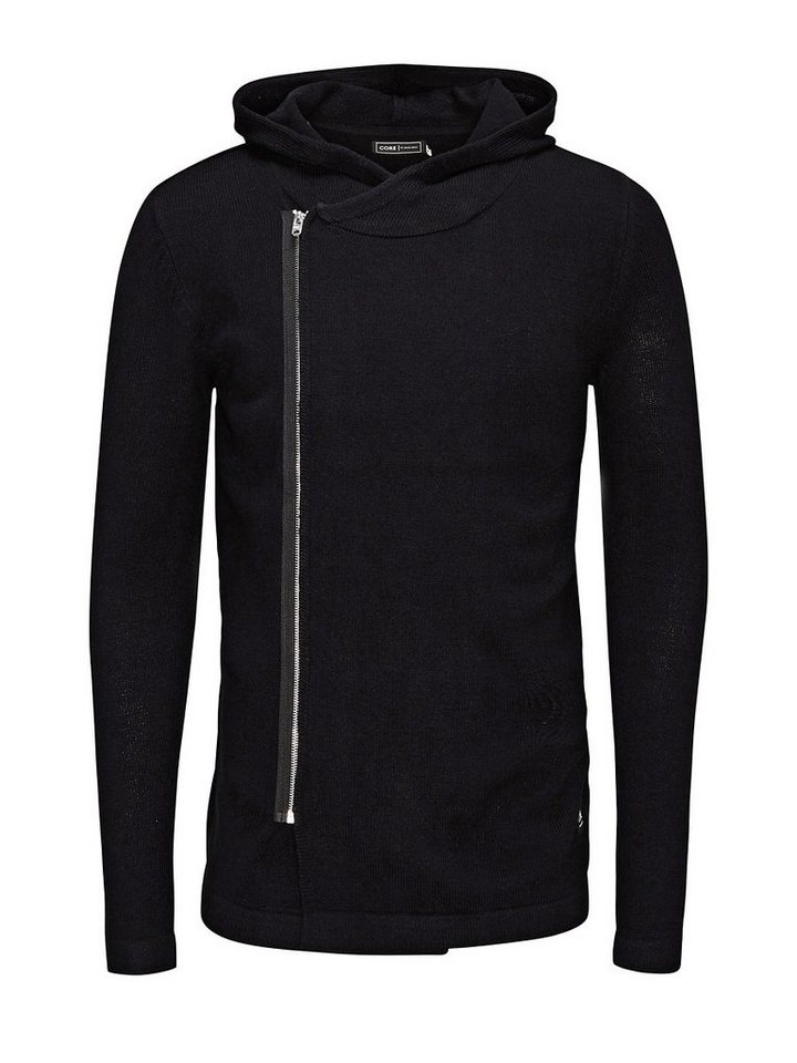 Jack & Jones Gestrickte Strickjacke in Black