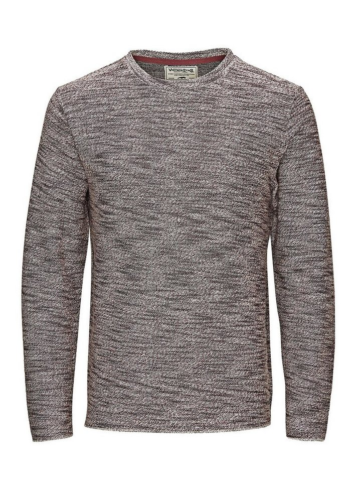 Jack & Jones Klassisches Regular-Fit- Sweatshirt in Syrah