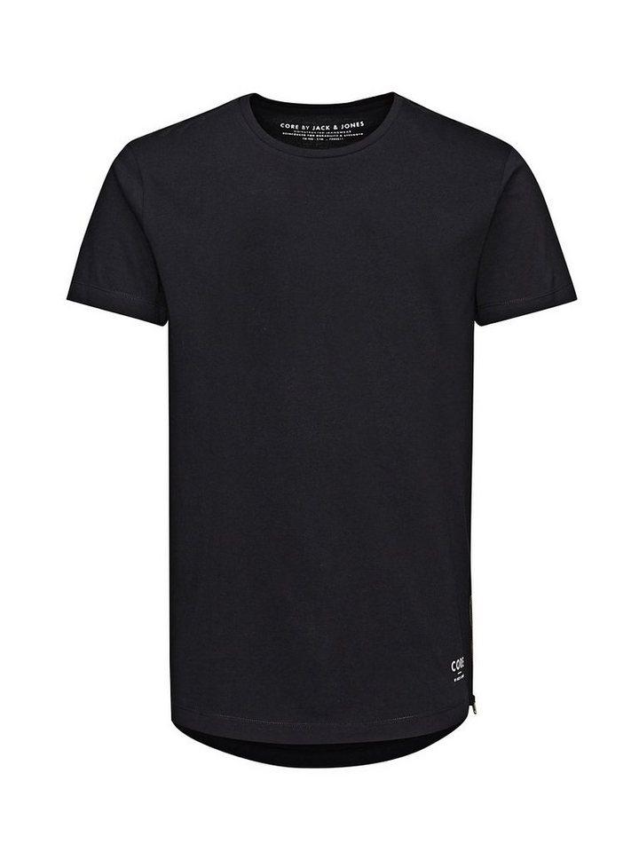 Jack & Jones Regular- und Long-Fit- T-Shirt in Black