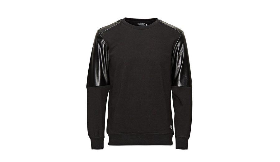 Verkauf Neuer Stile Jack & Jones Lederimitation- Sweatshirt Sneakernews Günstiger Preis Freies Verschiffen Footaction 3lpLjkXH