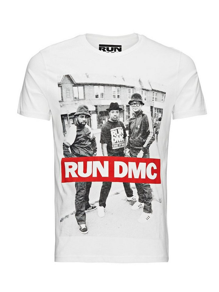 Jack & Jones Run DMC T-Shirt in Cloud Dancer