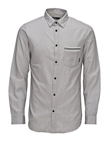 Jack & Jones Ribbed Detailed Casual Shirt