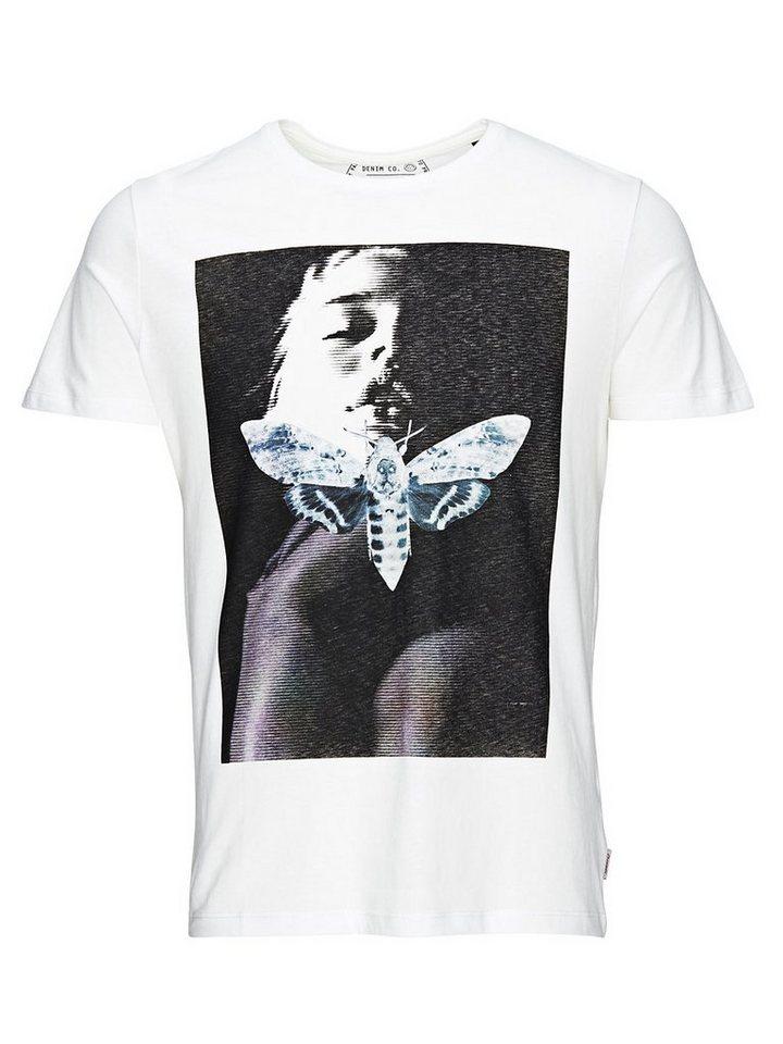 Jack & Jones Statement T-Shirt in Cloud Dancer