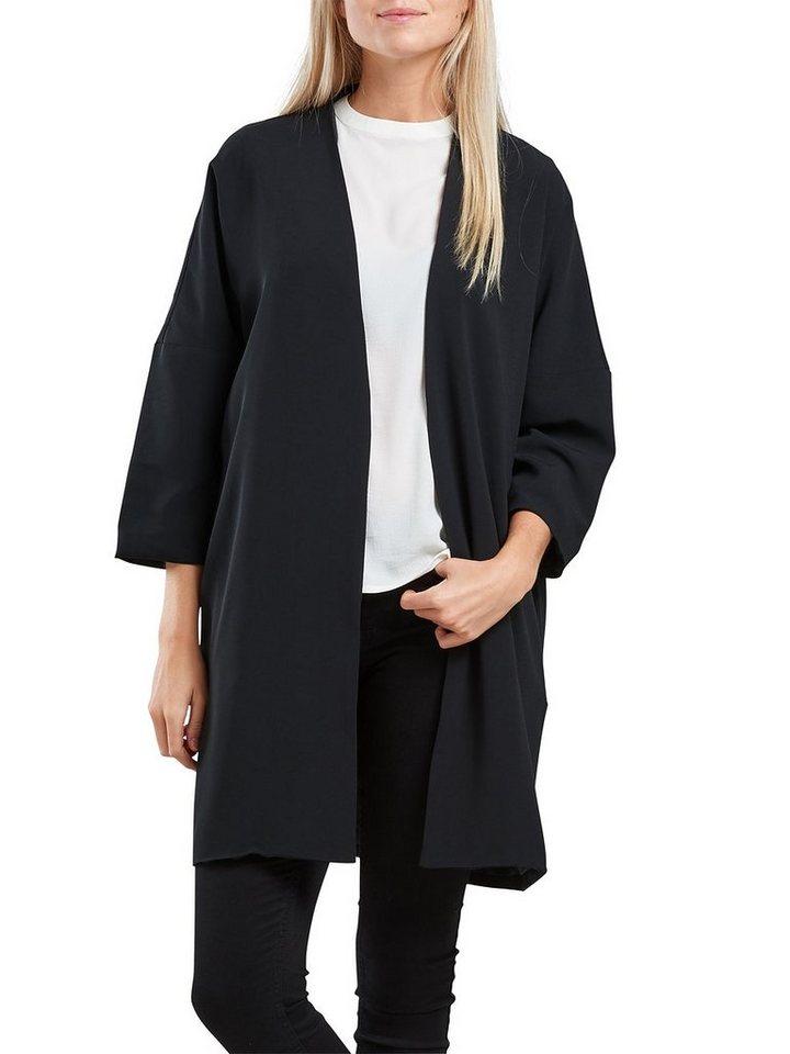 Only 3/4-ärmeliger Kimono in Black
