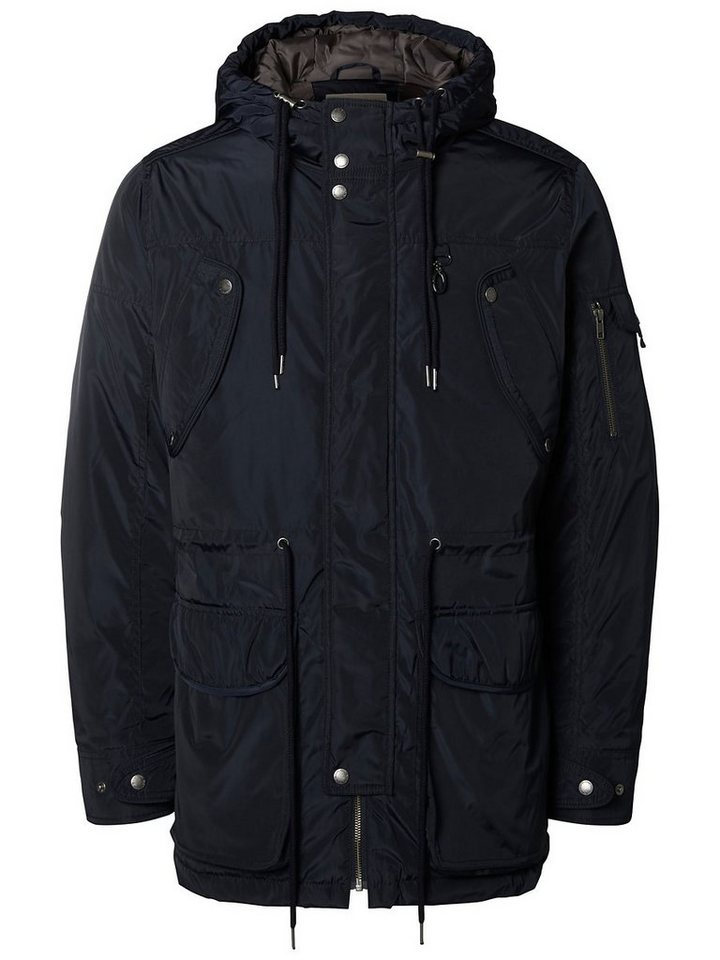 Selected Leichte Nylon- Jacke in Dark Navy