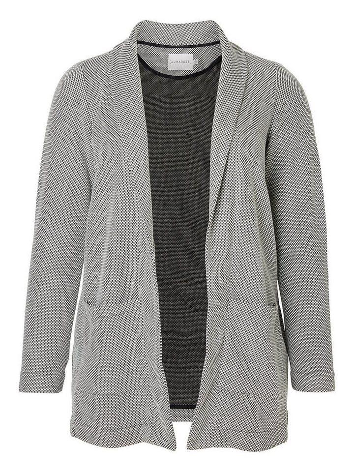 JUNAROSE Langarm blazer in Black