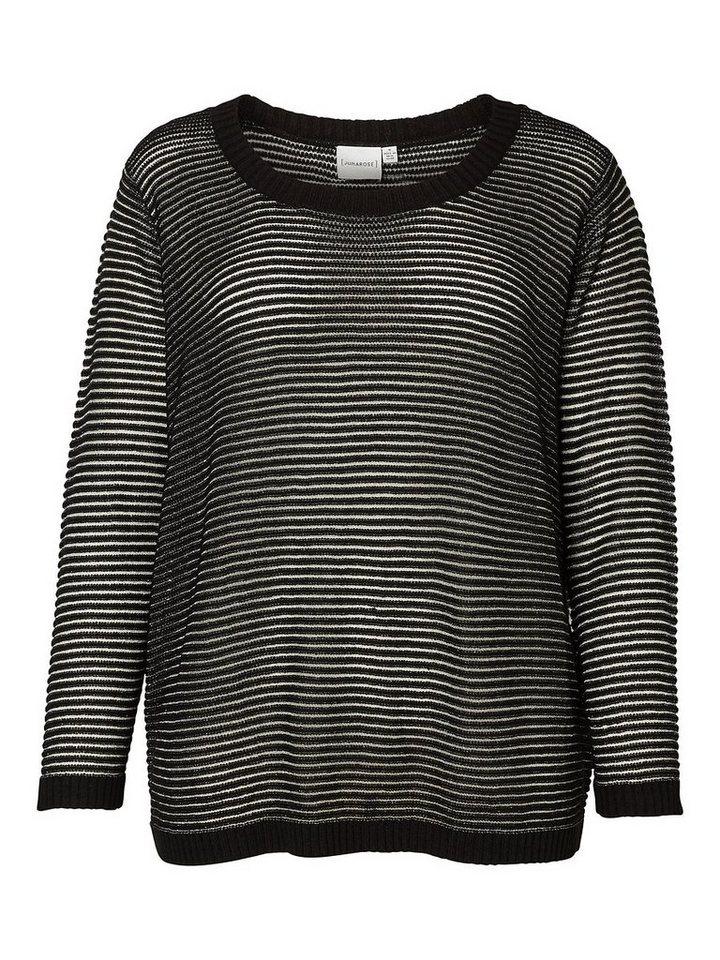 JUNAROSE Gestrickter Pullover in Black