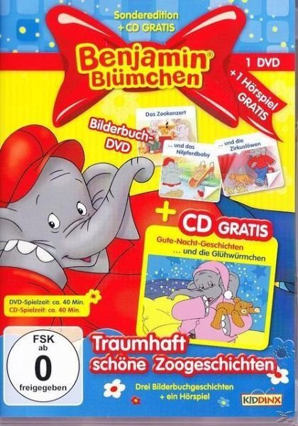 DVD+CD »Benjamin Blümchen - Traumhaft schöne...«