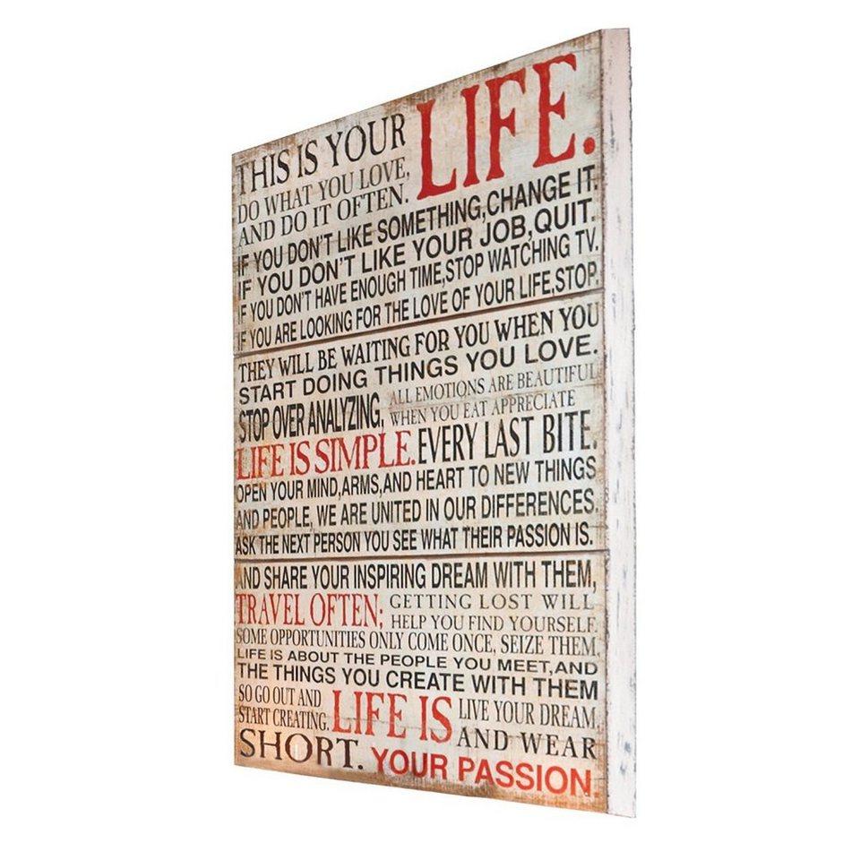 Loberon Dekoboard »Passion«
