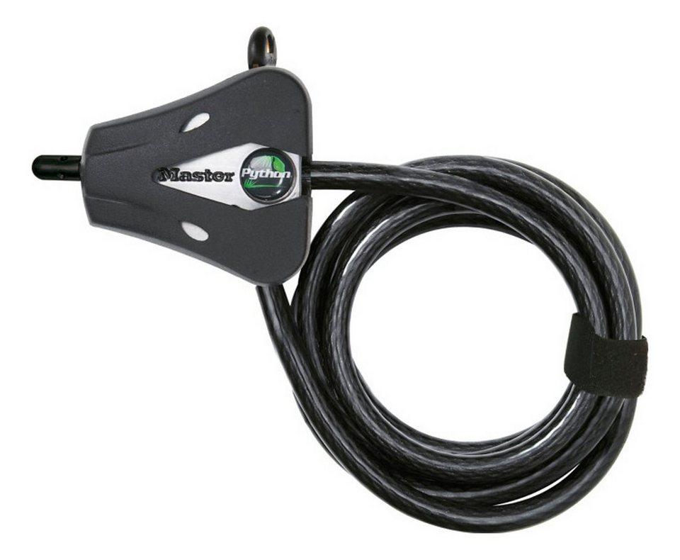 Masterlock Fahrradschloss »Python Kompakt Kabelschloss 8 mm x 1.800 mm«