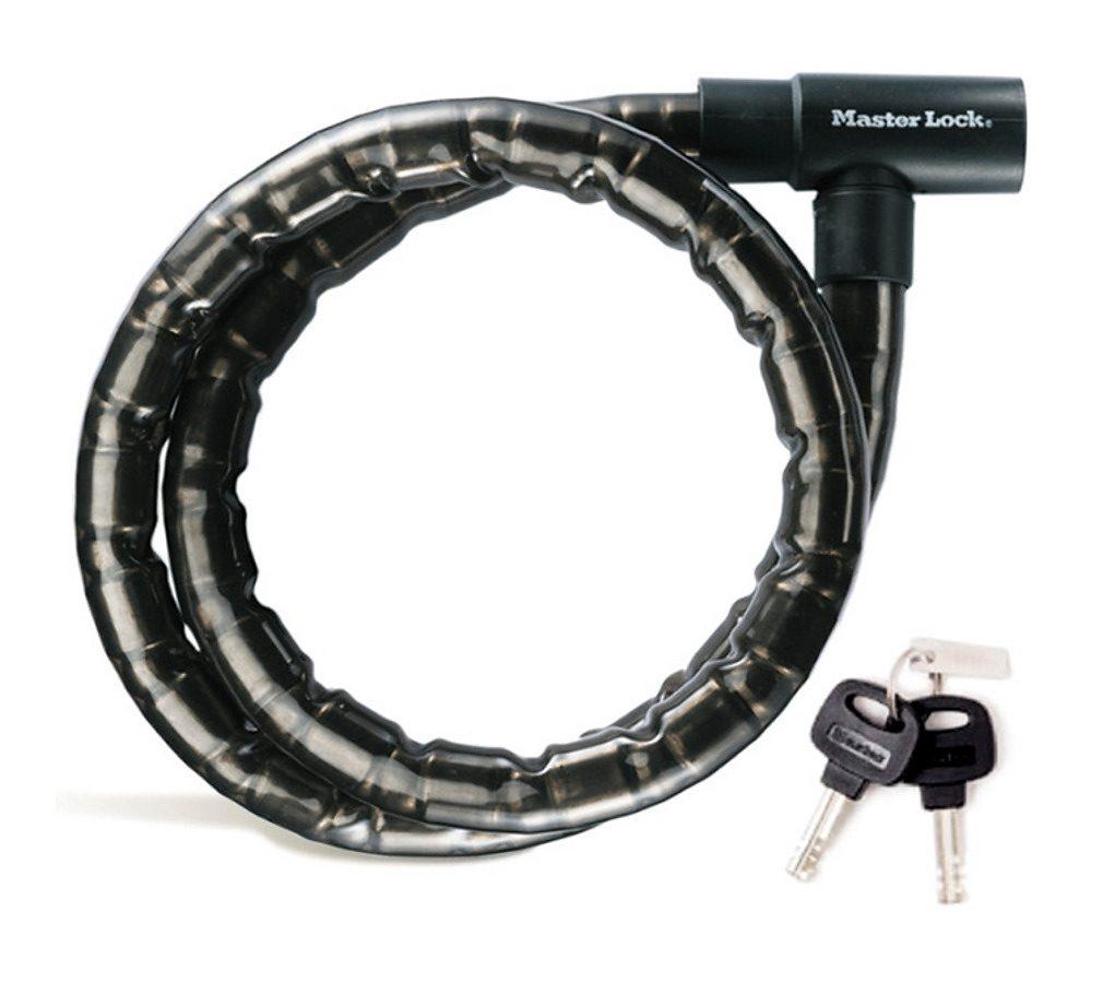 Masterlock Fahrradschloss »8218 PanzR Kabelschloss 22 mm x 2.000 mm«