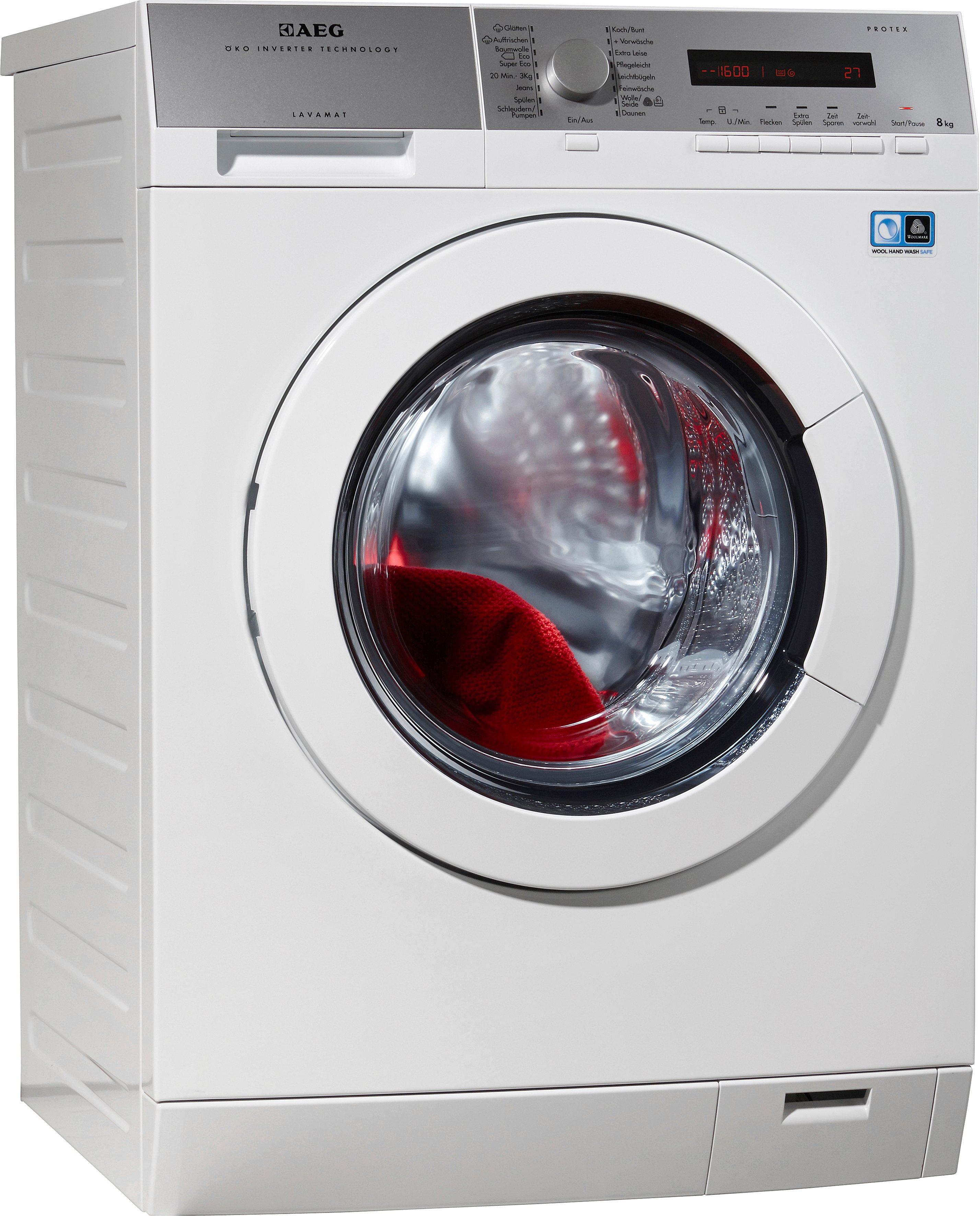 AEG Waschmaschine LAVAMAT L77485PFL, 8 kg, 1400 U/Min