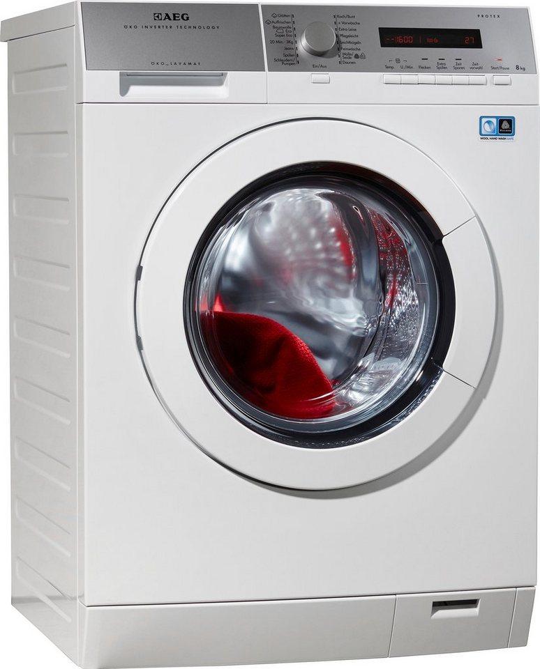 AEG Waschmaschine LAVAMAT L77484PFL, A+++, 8 kg, 1400 U/Min in weiß