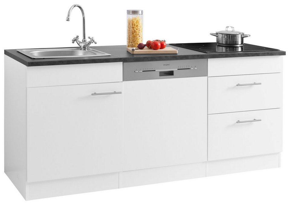 OPTIFIT Küchenzeile »Mini«, Mit E Geräten, Breite 180 Cm