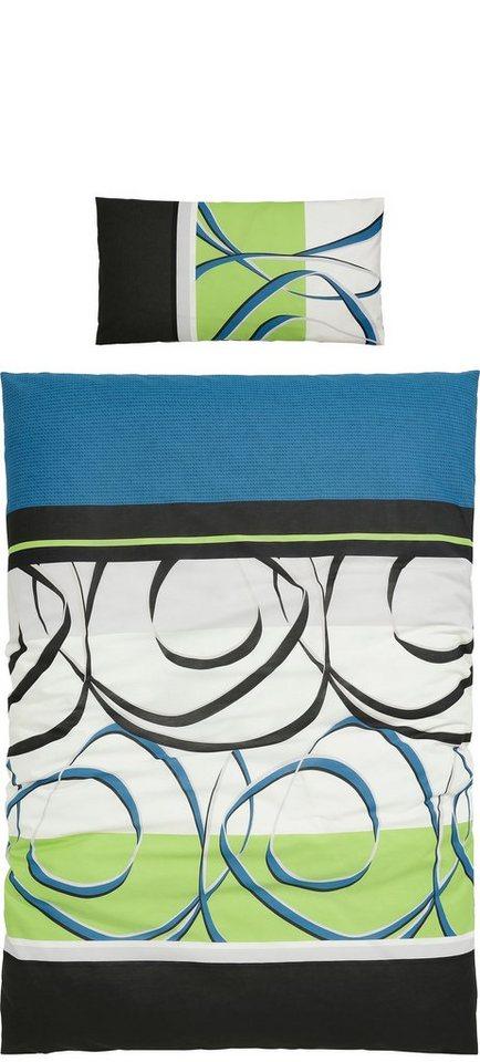 bettw sche my home reviso mit farbverl ufen otto. Black Bedroom Furniture Sets. Home Design Ideas