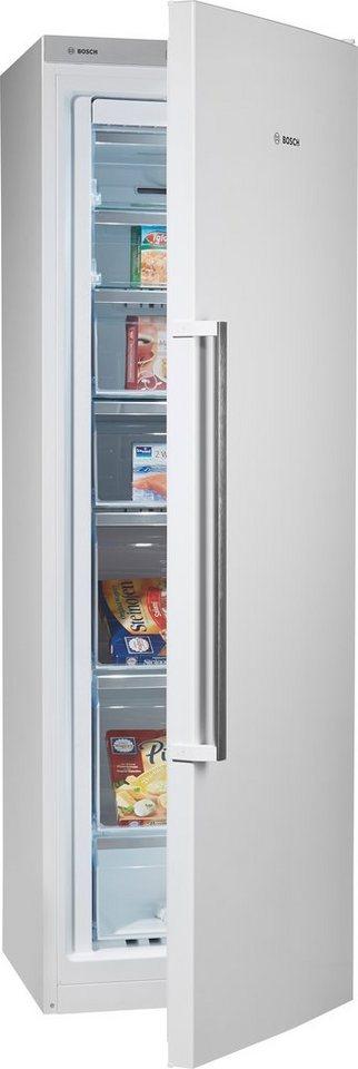 Bosch Gefrierschrank GSN36AW40, Energieklasse A+++, Höhe: 186 cm in weiß