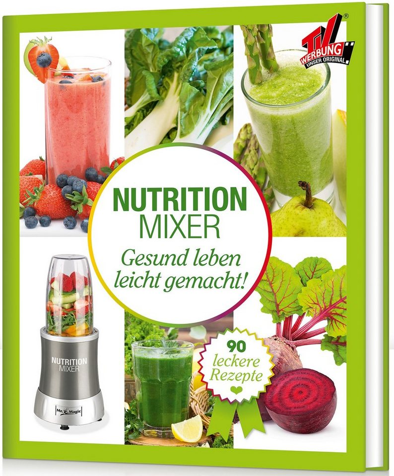 Buch Nutrition Mixer Natural Superfood Smoothie Buch