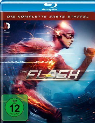 Blu-ray »The Flash - Die komplette erste Staffel (4 Discs)«