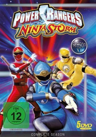 DVD »Power Rangers - Ninja Storm: Season XI (5 Discs)«