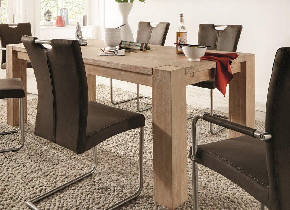 Premium collection by Home affaire Esstisch »Big Pure« natur, 200cm breit in natur