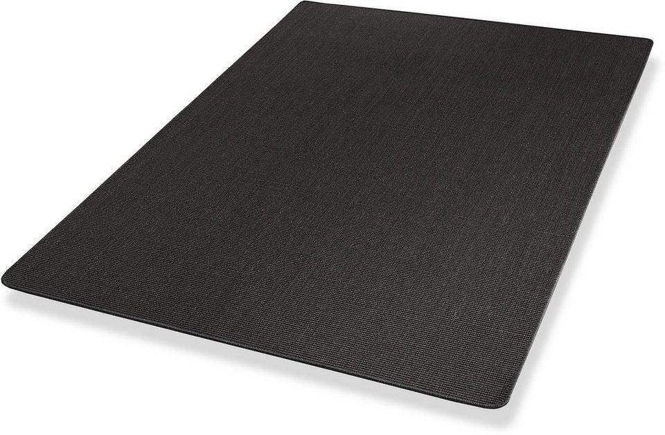 Teppich, Dekowe, »Yucatan«, Sisal, Wunschmaß in schwarz