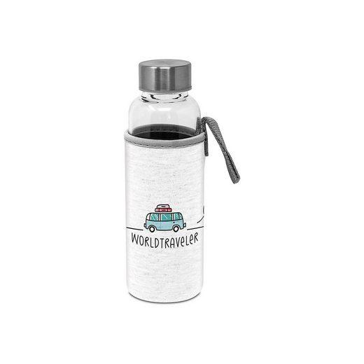 Trinkflasche Flaschenpost Worldtraveller, 350 ml
