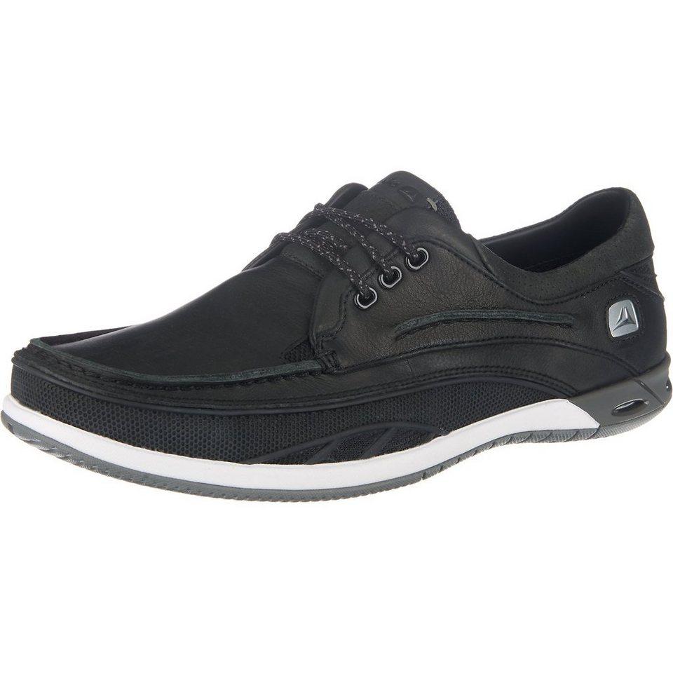 Clarks Orson Lace Freizeit Schuhe in schwarz