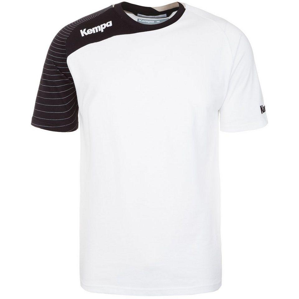KEMPA Circle Trainingsshirt Kinder in weiß/schwarz