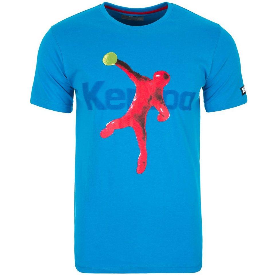 KEMPA Plasticine Player T-Shirt Herren in kempablau