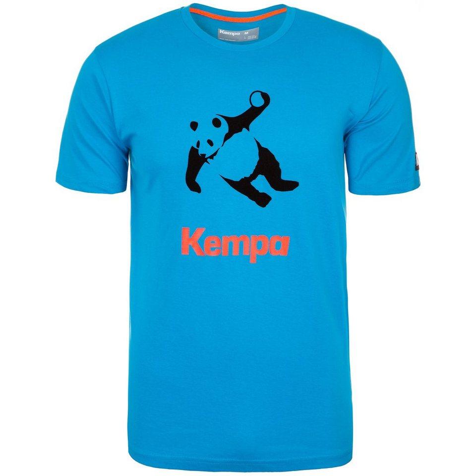 KEMPA Panda T-Shirt Herren in kempablau/schwarz