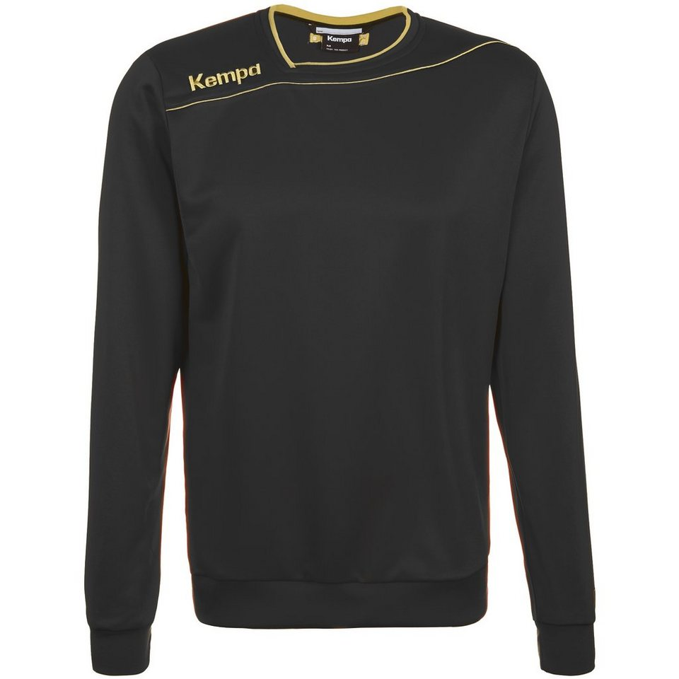KEMPA GOLD Trainingsshirt Kinder in schwarz/gold