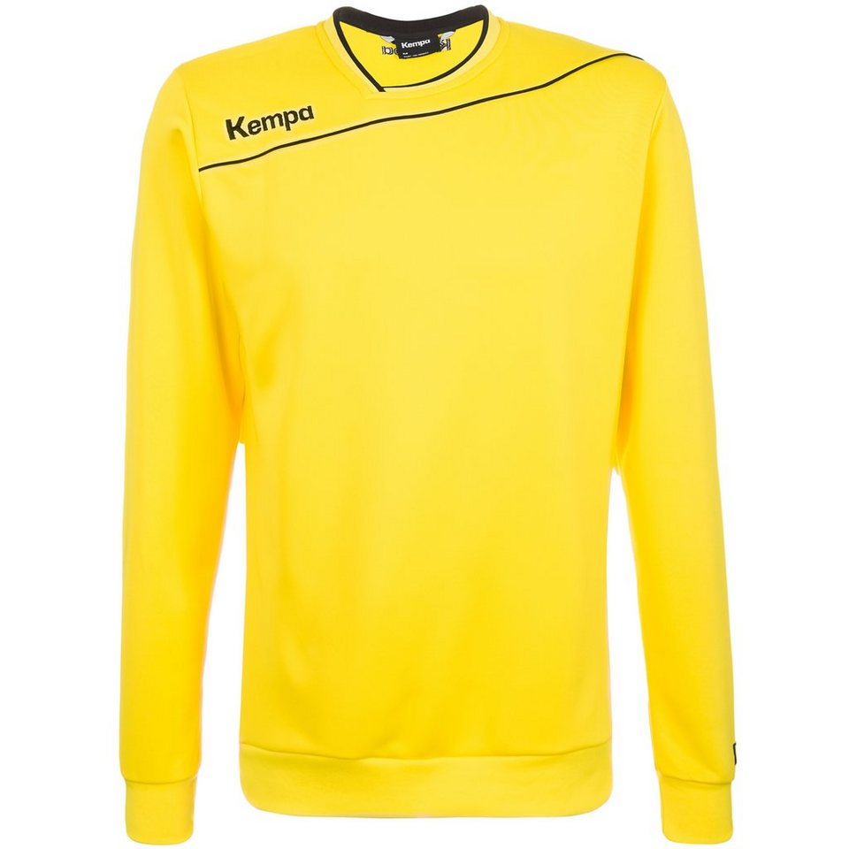 KEMPA GOLD Trainingsshirt Kinder in limonen gelb/schwarz