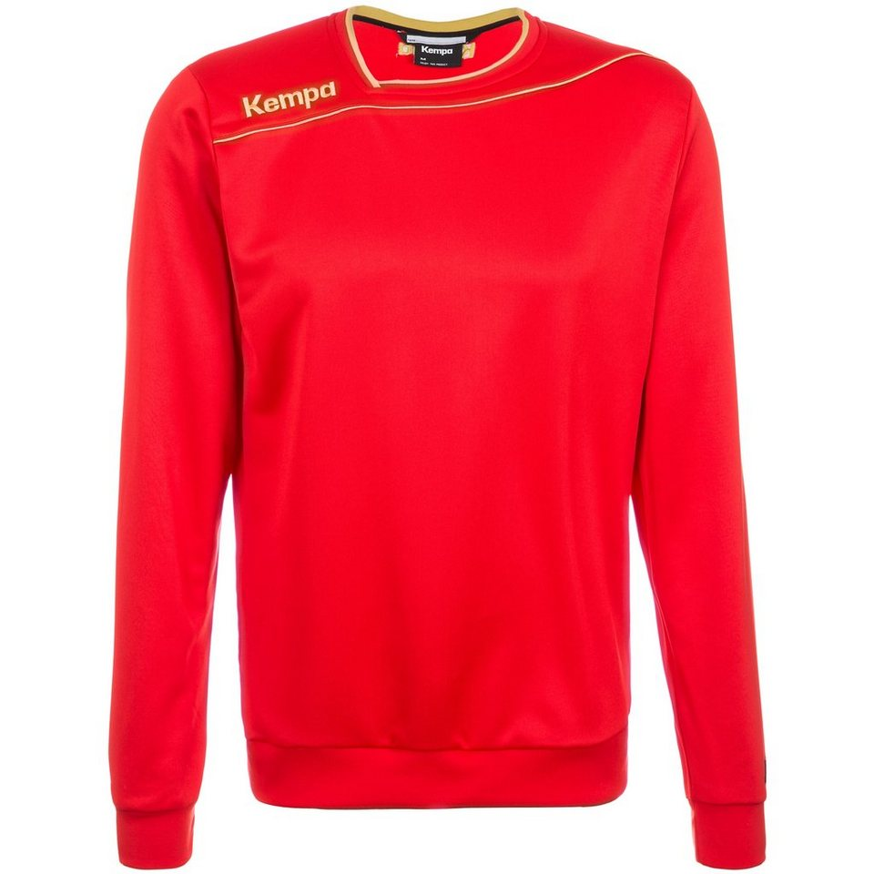 KEMPA GOLD Trainingsshirt Kinder in rot/gold