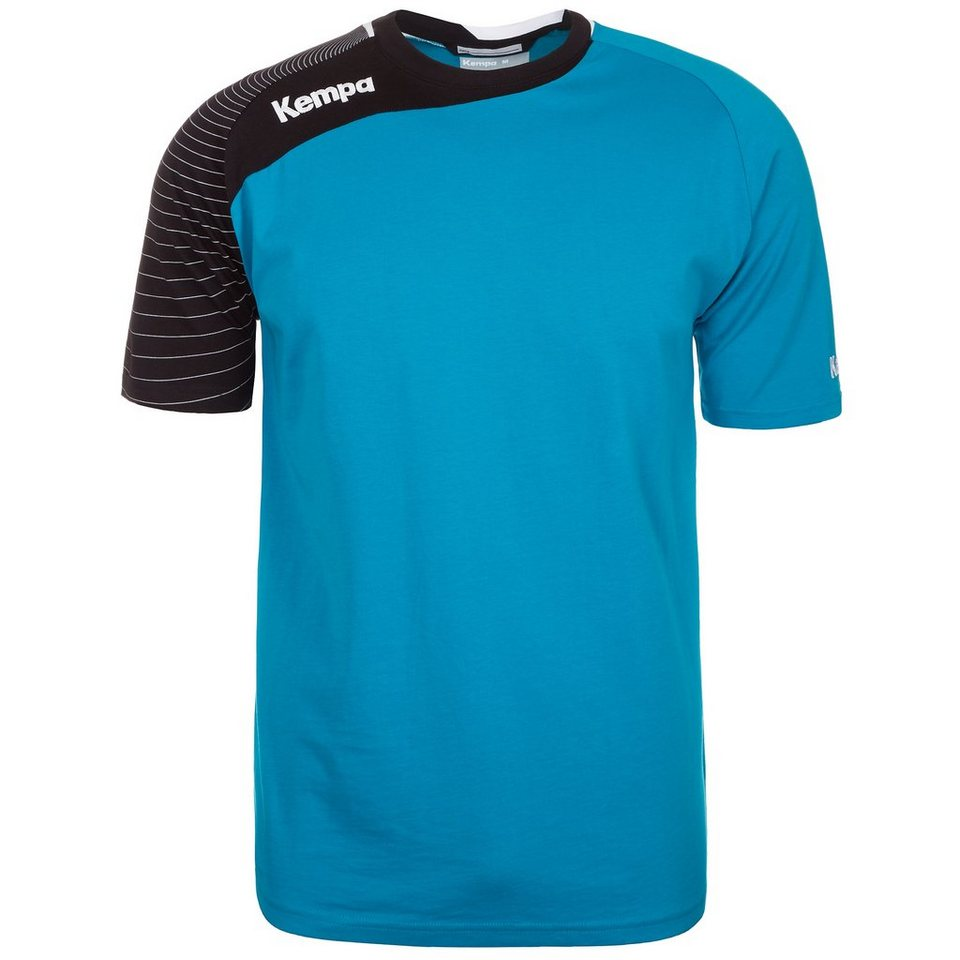 KEMPA Circle Trainingsshirt Herren in kempablau/schwarz