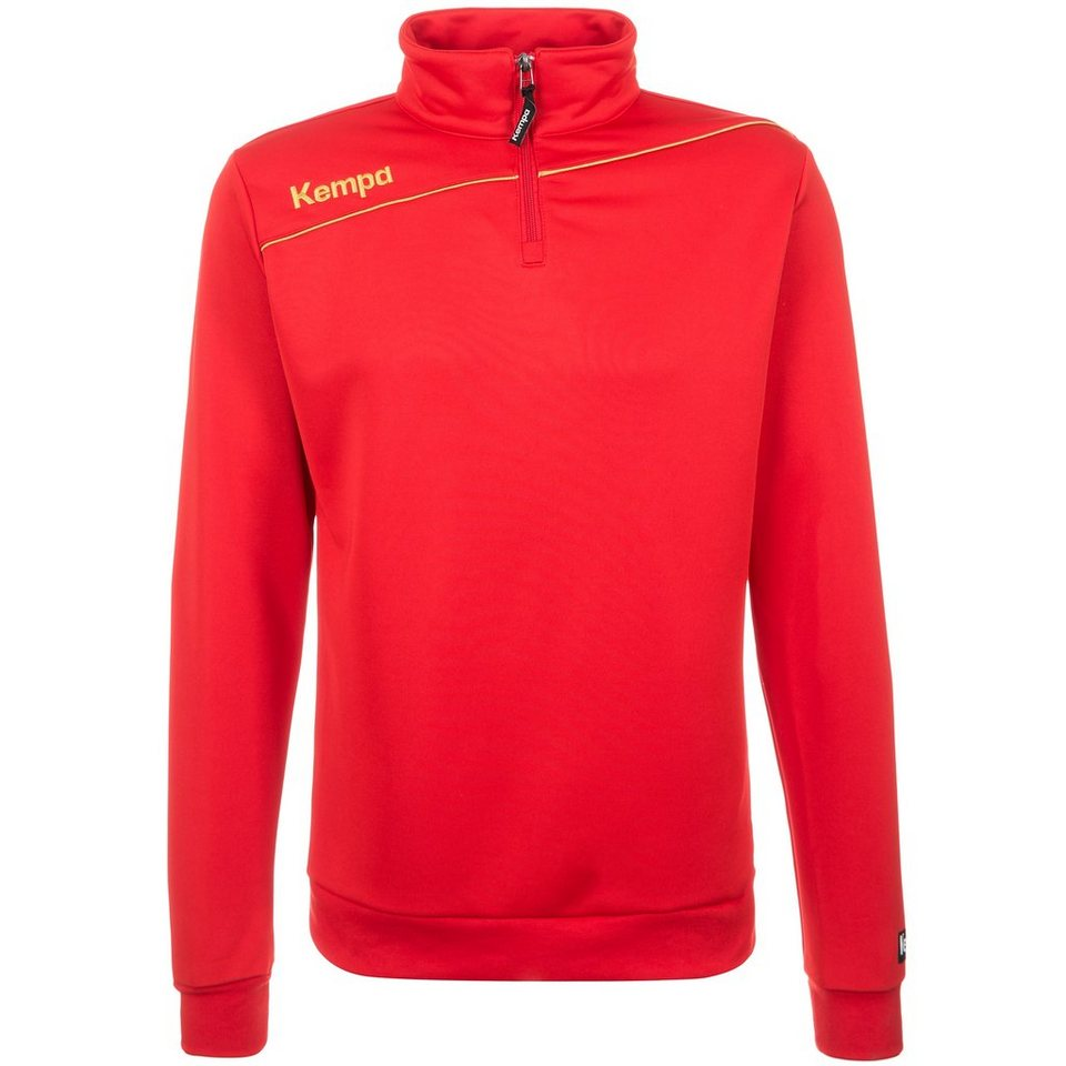 KEMPA GOLD 1/4 Zip Top Herren in rot