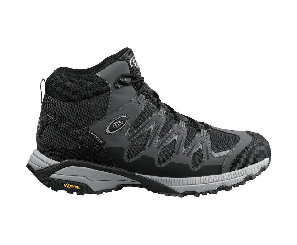 Brütting Outdoorstiefel »EXPEDITION MID« in schwarz/grau